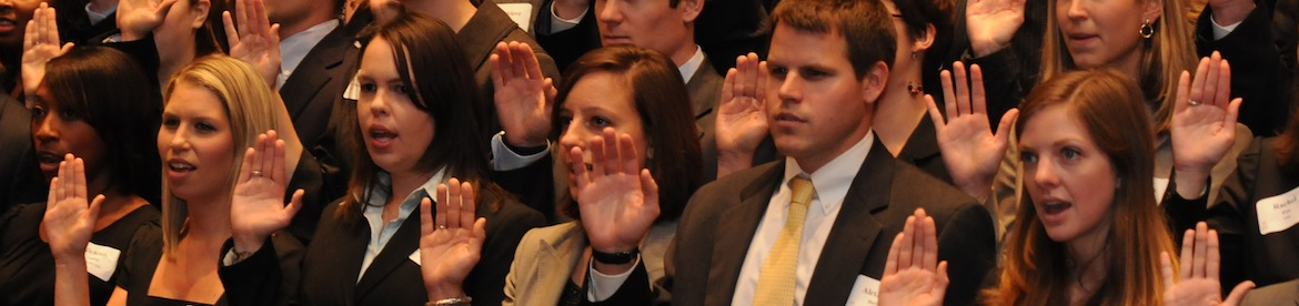 Emory Law Swearing-In Ceremony, Tull Auditorium