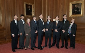 Emory Law students at Supreme Court