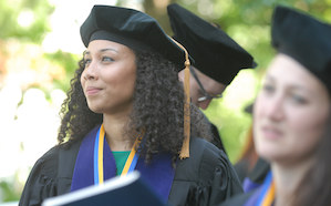 Emory Law graduating student