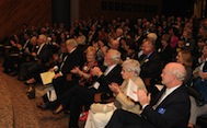 Distinguished Alumni Awards audience