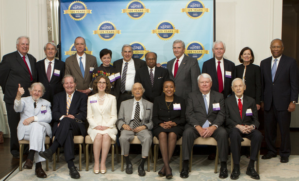 2015 Lifetime Achievement Award winners