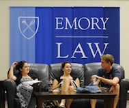 Emory Law students