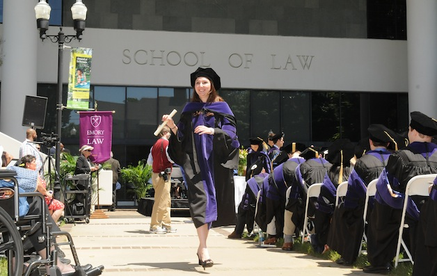 Emory Law Honors Class Of 2013 At Graduation Ceremonies