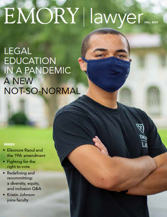 Emory Lawyer Magazine Cover